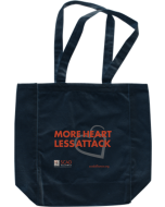 More Heart Less SCAD Tote