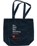 Be Still My Beating Heart Tote