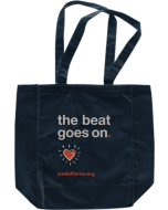 The Beat Goes On Tote